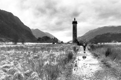 Photograph - Shores Of A Lost Dream - Glenfinnan by Mark E Tisdale