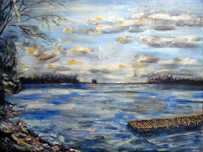 Painting - Shores Of Lake Champlain by Denny Morreale