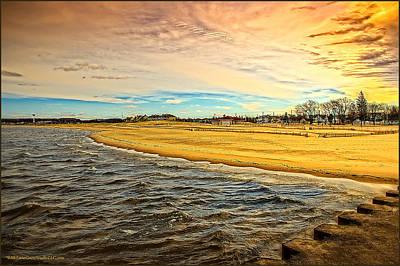 Dock Photograph - Shores Of Lake Michigan by LeeAnn McLaneGoetz McLaneGoetzStudioLLCcom