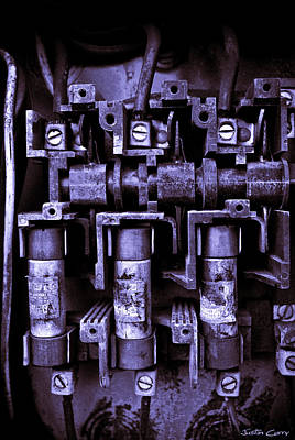 Fused Photograph - Short Circuit by Justin  Curry