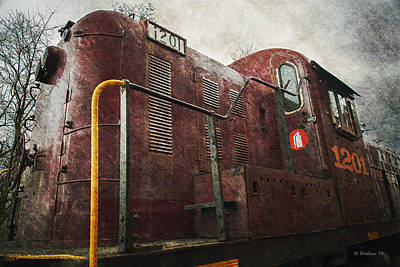 Shed Digital Art - Short Line by Brian Wallace