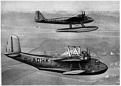 Short Mayo Composite Aircraft Art Print by Cci Archives