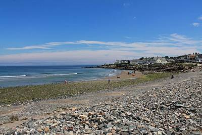 Photograph - Short Sands Beach York Maine 2 by Michael Saunders