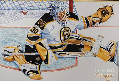 Short Side Save Print by Alan Salvaggio