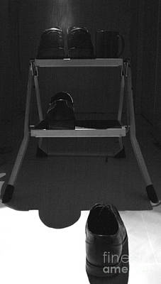 Step Stool Photograph - Shortly After Teetering On The Edge Of A Paradigm Shift by Joe Fantauzzi