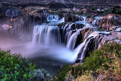 Photograph - Shoshone Falls by David Andersen