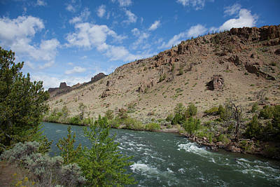 Shoshone River Art Print