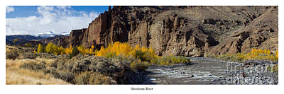 Wyoming Photograph - Shoshone River  by Twenty Two North Photography