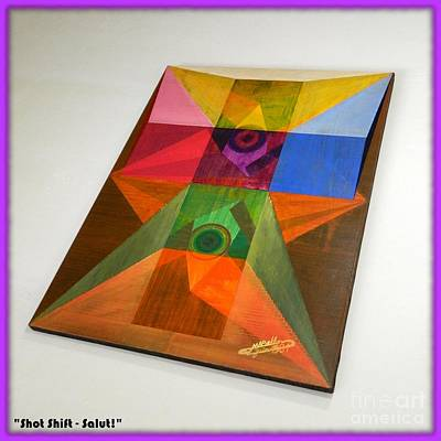 Shot Shift - Salut 2 Art Print by Michael Bellon