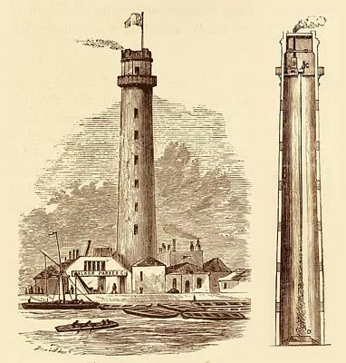 Shot Tower Art Print by David Parker