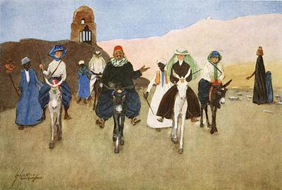 Donkey Drawing - Should Women Ride Astride?, From The by Lance Thackeray