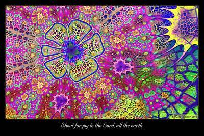 Digital Art - Shout For Joy by Missy Gainer