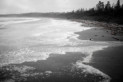 Photograph - Winter At Wickaninnish Beach by Roxy Hurtubise