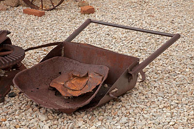 Photograph - Shovel by Fred Stearns
