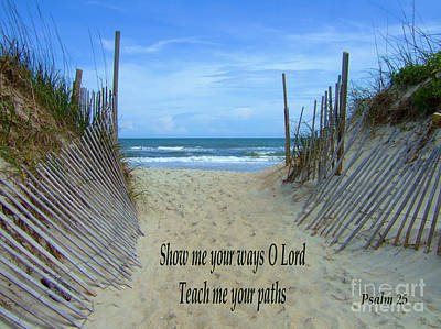Photograph - Show Me Your Ways O Lord by Bob Sample