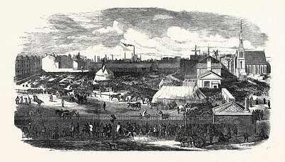 Show Of The Manchester And Liverpool Agricultural Society Art Print