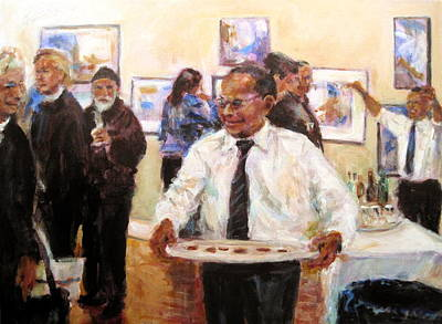 Painting - Show Time by Chuck Berk