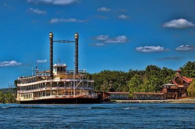 Photograph - Showboat Branson Belle Branson Missouri by Tim McCullough
