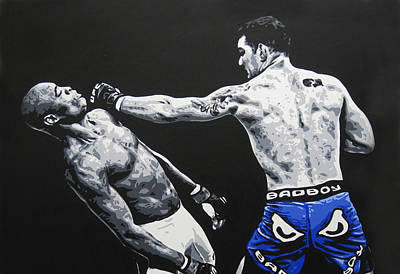 Ufc Painting - Showboat Fail by Geo Thomson