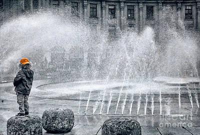 Photograph - Shower Please by Jutta Maria Pusl