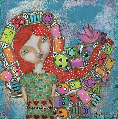 Mixed Media - Showered With Gifts by Barbara Orenya