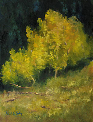 Painting - Showing Off Our Yellow by Teresa Lynn Johnson