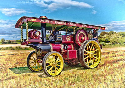 Photograph - Showmans Engine by Paul Gulliver