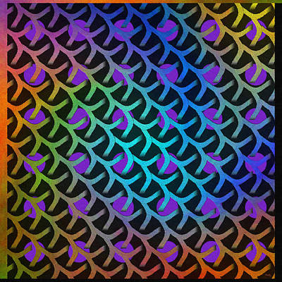 Repeat Digital Art - Shreaded Patterns And Textures by Glenn McCarthy Art and Photography