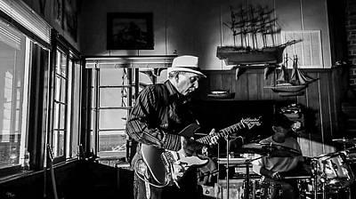 Photograph - Shreddin' The Strat W Michael Di Leo by Glenn Feron