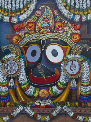 Painting - Shree Jagannath by Vrindavan Das