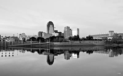 White River Photograph - Shreveport Cityscape by Scott Pellegrin