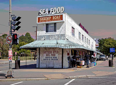 Shrimp Boat Benning Road Art Print