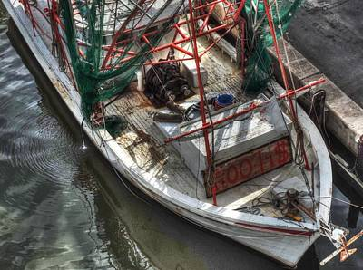 Photograph - Shrimp Boat For Sale by Cathy Jourdan
