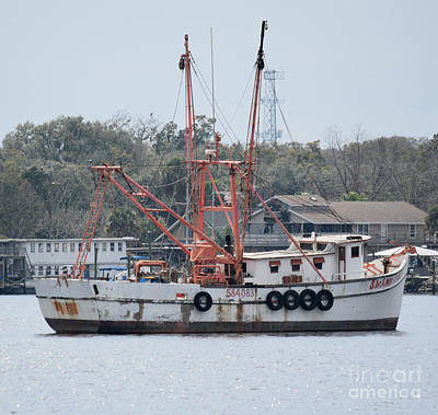 Photograph - Shrimp Boat by Gary Smith
