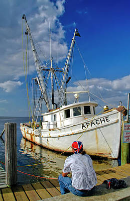 Shrimp Boat Art Print