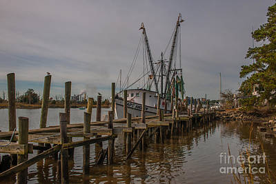 Photograph - Shrimp Boat In Georgetown Sc by Dale Powell