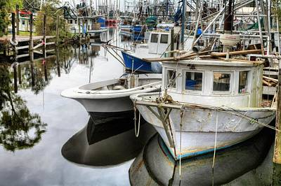Photograph - Shrimp Boats Galore  by JC Findley