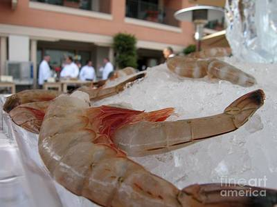 Photograph - Shrimp On Ice by James B Toy