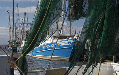 Photograph - Shrimp Trawler by Jim West