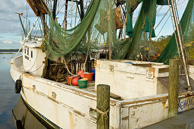 Photograph - Shrimper by Denis Lemay