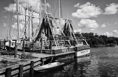 Photograph - Shrimpin Boats by Ben Shields