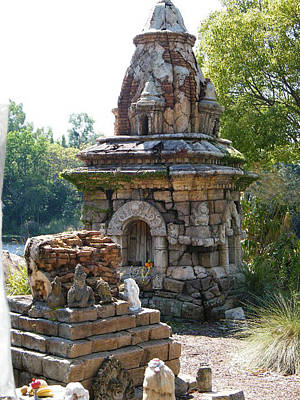 Photograph - Shrine by Ronda Douglas