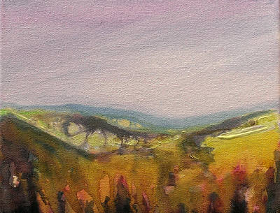 Painting - Shropshire Hills 4 by Paul Mitchell