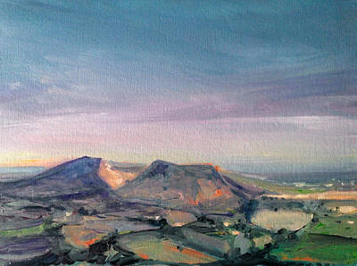 Painting - Shropshire Landscape 1 by Paul Mitchell