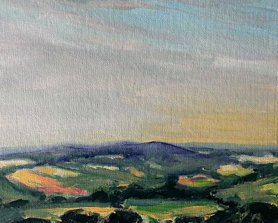 Painting - Shropshire Landscape 2 by Paul Mitchell