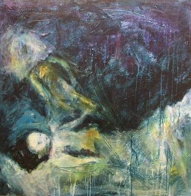 Painting - Shrouded In Brokenness by Valerie Greene