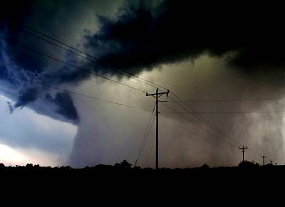 Photograph - Shrouded Tornado by Ed Sweeney