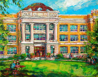 Painting - Shs Pride by Les Leffingwell
