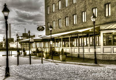 Fells Point Baltimore Maryland Photograph - Shuckers by Debbi Granruth
