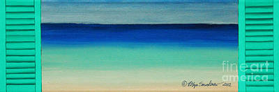 Painting - Shutter Me Sea by Robyn Saunders